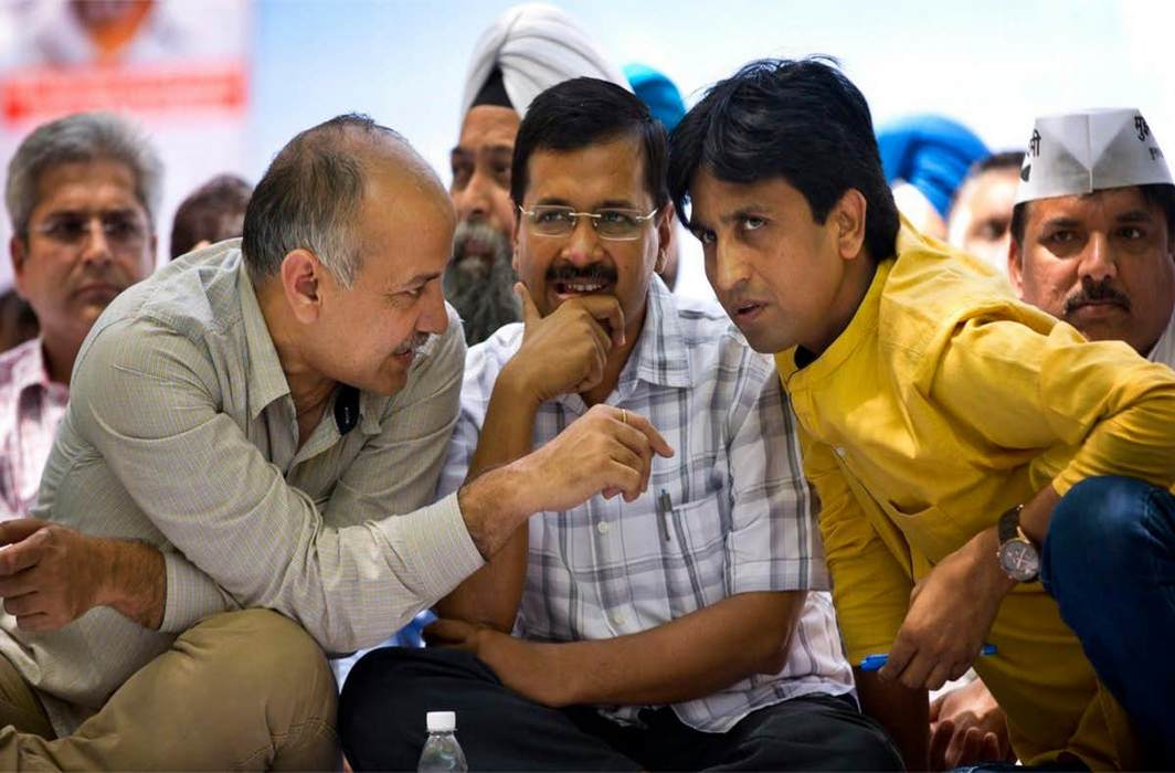 AAP nominates Sanjay Singh, Sushil Gupta and ND Gupta for RS polls, snubs Vishwas