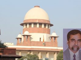 Supreme Court; (inset) Judge Loya