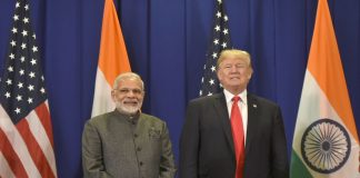 Prime Minister, Narendra Modi meeting the President of USA, Donald Trump, in Manila, Philippines on November 13, 2017/Photo: PIB