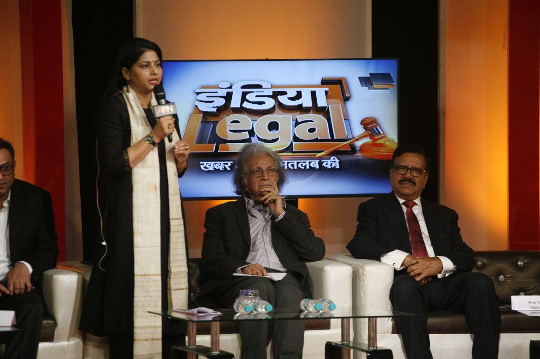 Rajshri Rai, Dr Upendra Baxi and Justice Shiva Kirti Singh