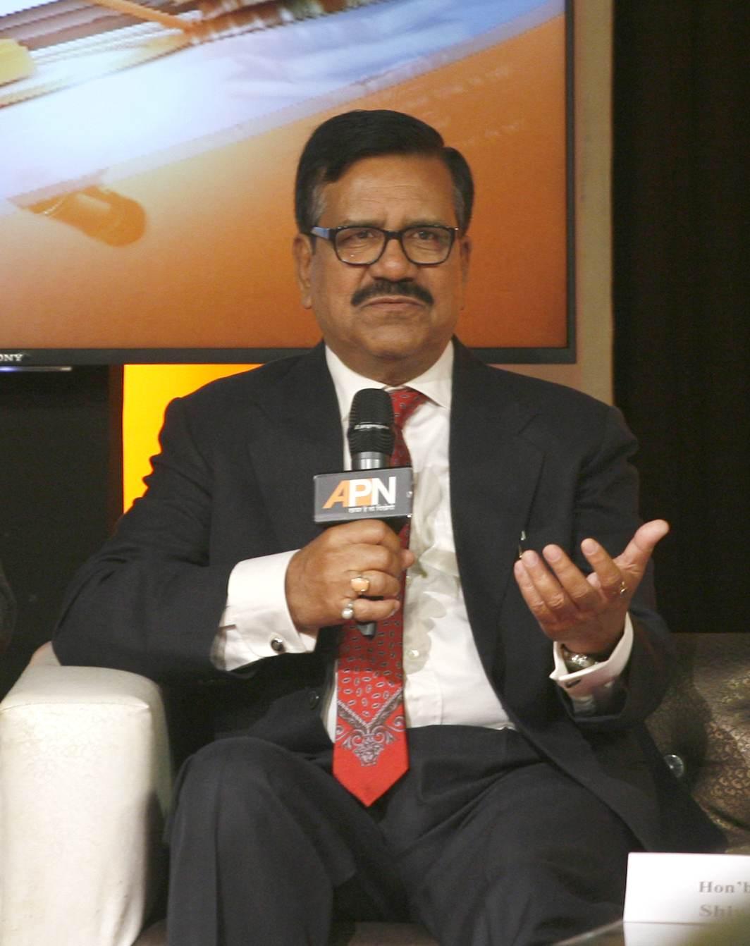 Justice Shiva Kirti Singh sharing his views