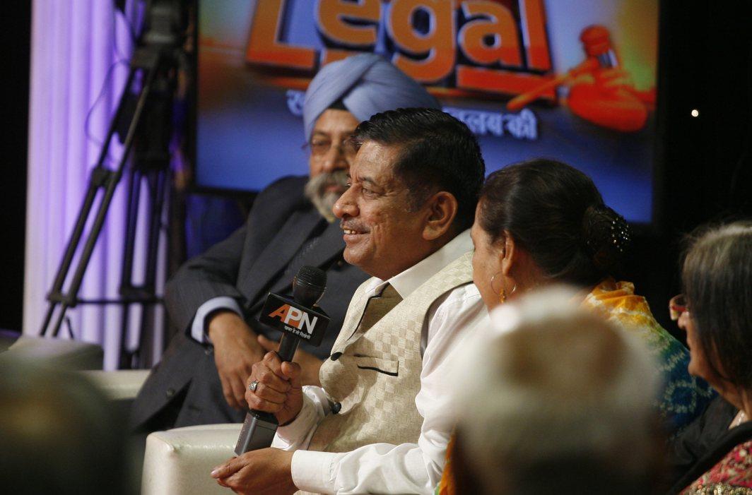 Justice K Sreedhar Rao in a lighter moment