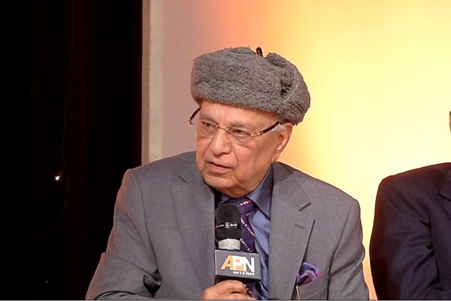 Subhash Kashyap, former secretary general of the Lok Sabha