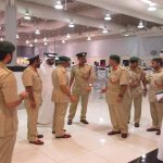 Security personnel at Dubai airport/Photo Courtesy: Facebook