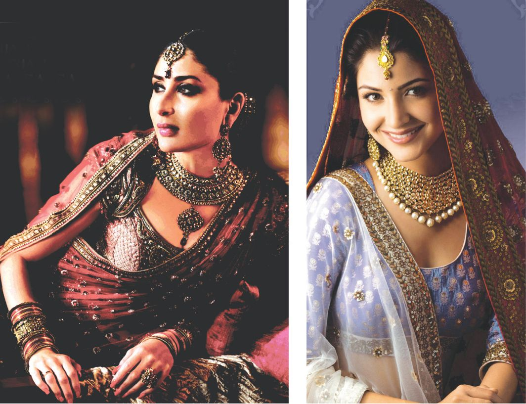 Celebrities showcasing jewellery made by Nirav's companies. Photo: Facebook