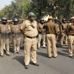 Delhi Police personnel confronting a protest (file picture)/Photo: Bhavana Gaur