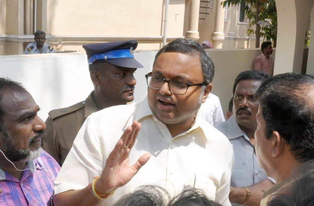 INX media money laundering case : Karti Chidambaram granted bail by HC