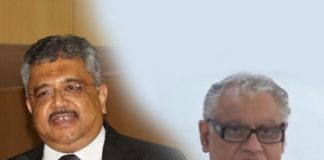 (Left) ASG Tushar Mehta and Senior Advocate Anand Grover