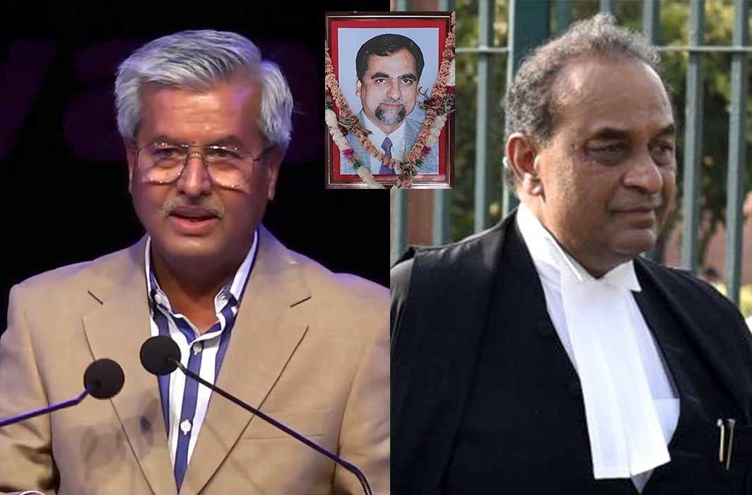 (Left) Senior Advocate Dushyant Dave and Senior Advocate Mukul Rohatgi