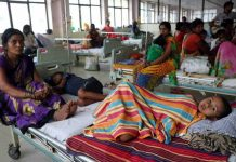 Patients recuperating in one of the hospitals in Gorakhpur, UP/Photo: UNI