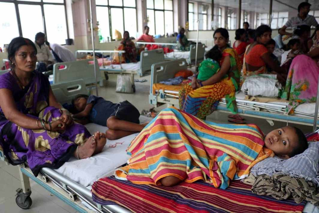 Government Hospitals in Gorakhpur, UP/Photo: UNI