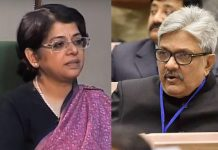 (Left) Senior Advocate Indu Malhotra and Justice K M Joseph