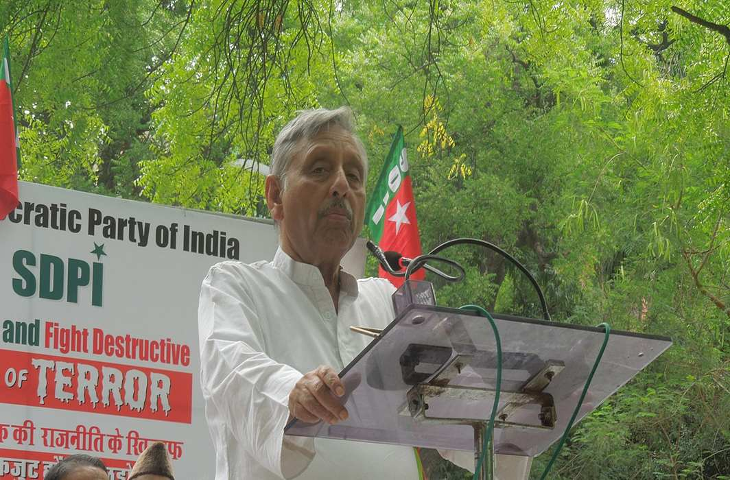 Sedition case hearing against Manishankar Aiyar now on May 4