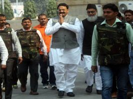 Mukhtar Ansari of the Bahujan Samaj Party who is in jail was barred from voting in recent Rajya Sabha elections