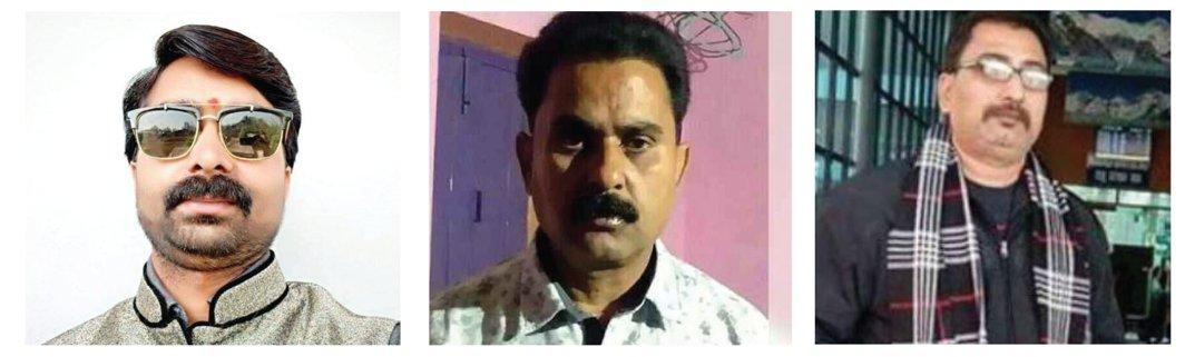 Journalists Sandeep Sharma, Navin Nishchal and Vijay Singh were gunned down in March this year