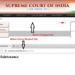 Supreme Court site allegedly hacked into