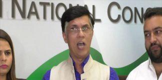 Ex-Political Secretary to Sheila Dikshit, Pawan Khera