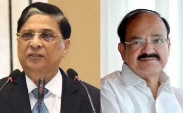 Venkaiah Naidu rejects Opposition's move to impeach CJI Dipak Misra