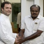 Kumaraswamy takes oath as Karnataka CM, united Opposition turns up