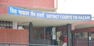 Under-trial shot at by minor outside Tis Hazari court