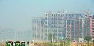An under-construction project in Greater Noida, Uttar Pradesh/Photo: Anil Shakya