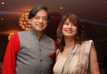 Shashi Tharoor and Sunanda Pushkar