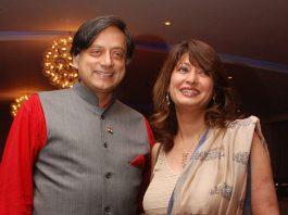 Shashi Tharoor and Sunanda Pushkar