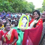 Transgenders at the Queer Cultural Fest in Thiruvananthapuram
