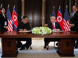 Trump, Kim sign treaty, Kim promises complete denuclearisation of Korean Peninsula