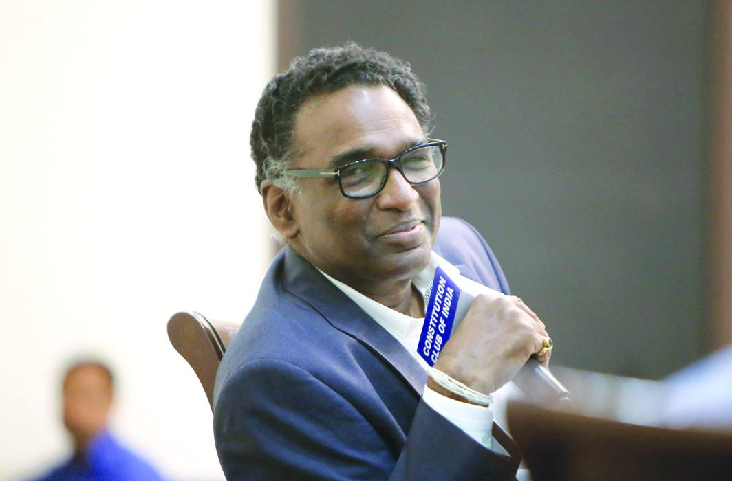 Justice Chelameswar: Playing a Double Role?