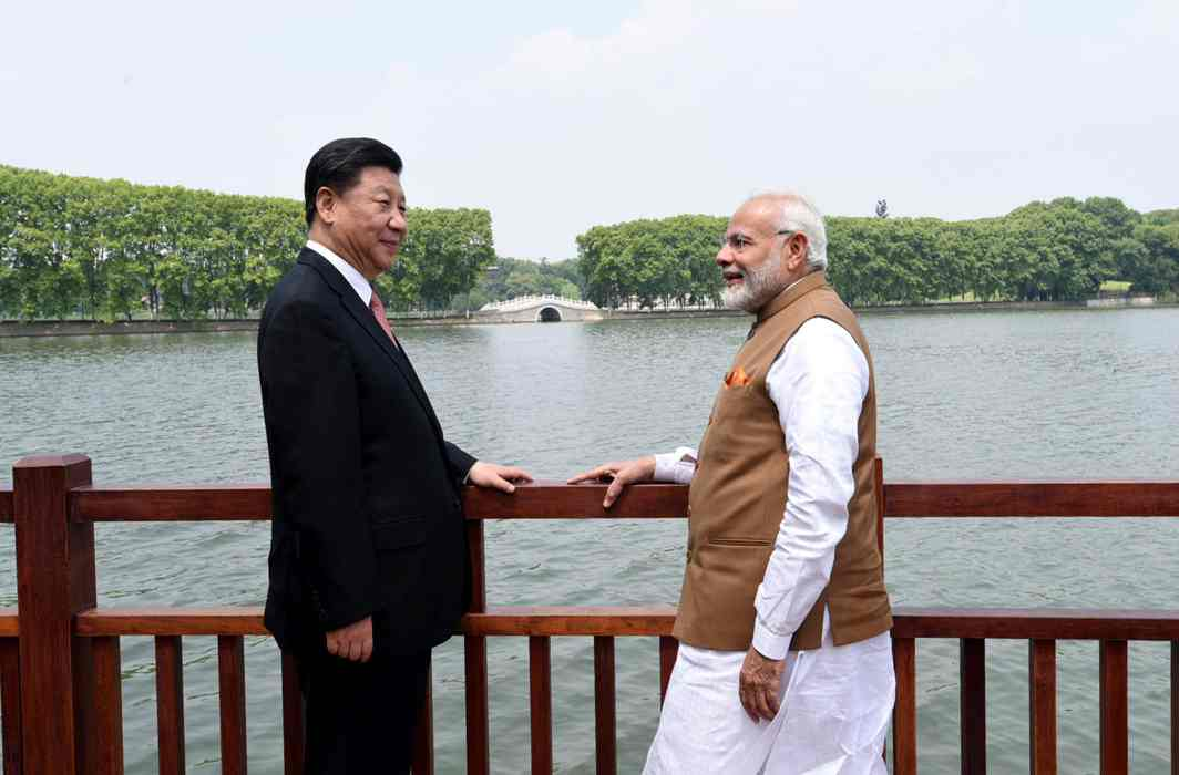PM Narendra Modi and Chinese President Xi Jinping reset the relationship in Wuhan in April/Photo: UNI