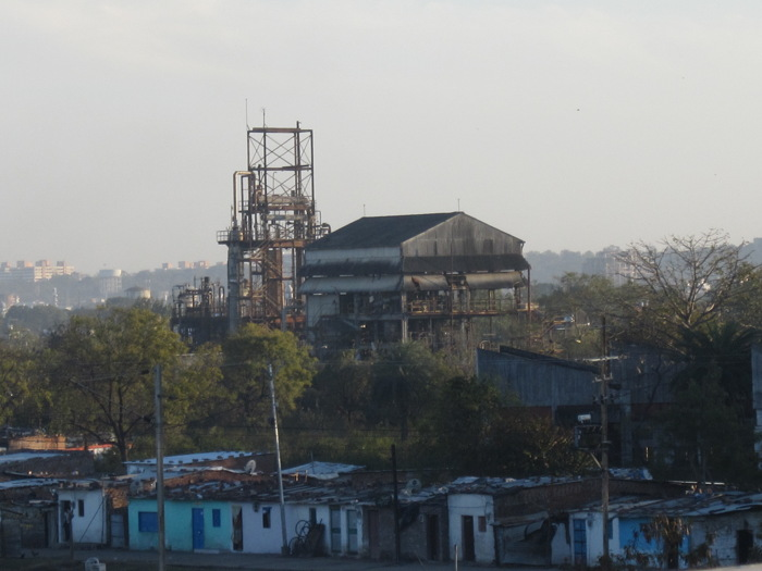 Residential premises around the defunct Union Carbide factory in Bhopal