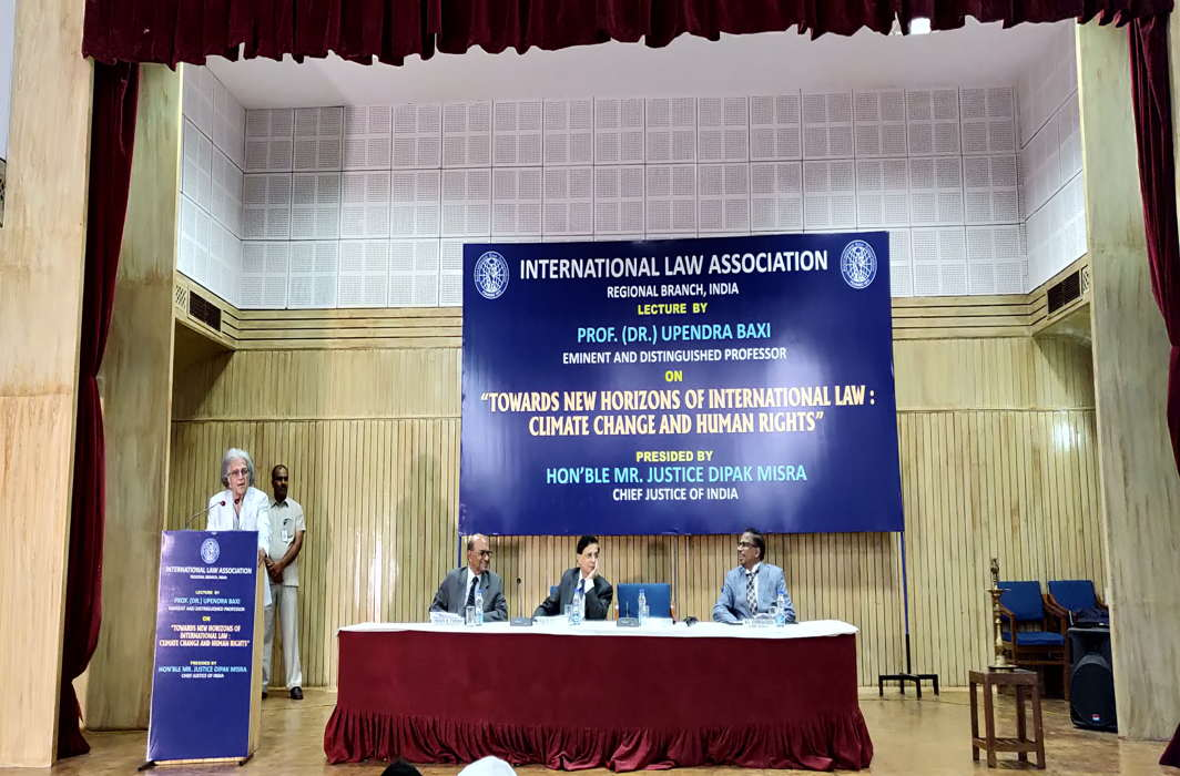 Rethink basic concepts of law on property, contracts to fight climate change, says Prof. Baxi