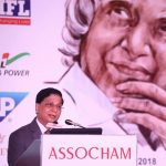 Chief Justice Dipak Misra delivering his speech at the Assocham conclave in New Delhi on Tuesday. Picture Anil Shakya