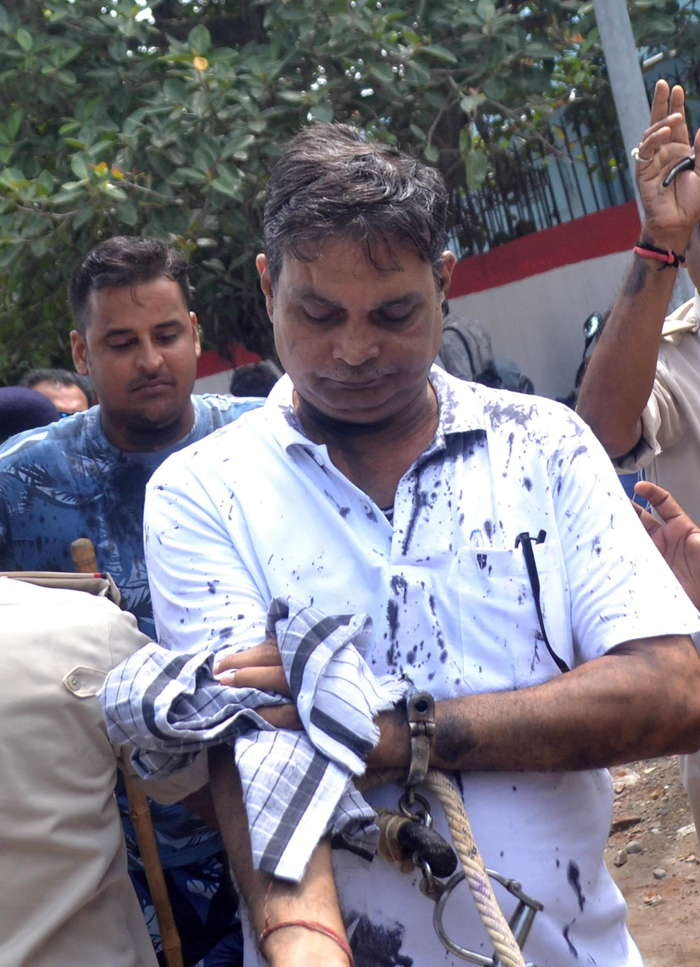 Main accused in the Muzaffarpur shelter rape case, Brajesh Thakur