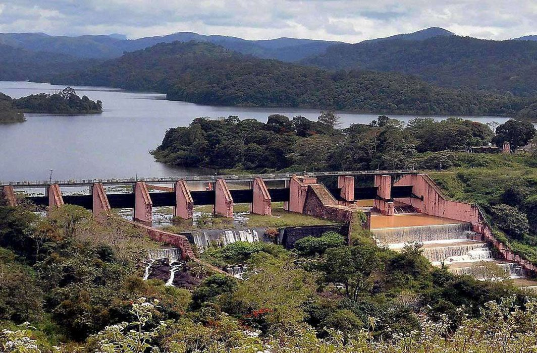 The 100-year-old Mullaperiyar dam is located near the Tamil Nadu-Kerala border