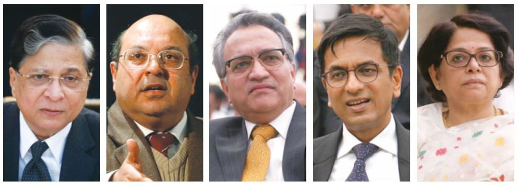 A five-judge Constitution bench, comprising Chief Justice Dipak Misra, Justices Rohinton Fali Nariman, AM Khanwilkar, DY Chandrachud and Indu Malhotra struck down Section 377 of the Indian Penal Code on Thursday