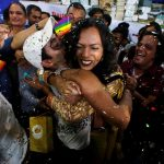 Supporters of the LGBT community celebrate the Supreme Court's verdict/Photo: UNI