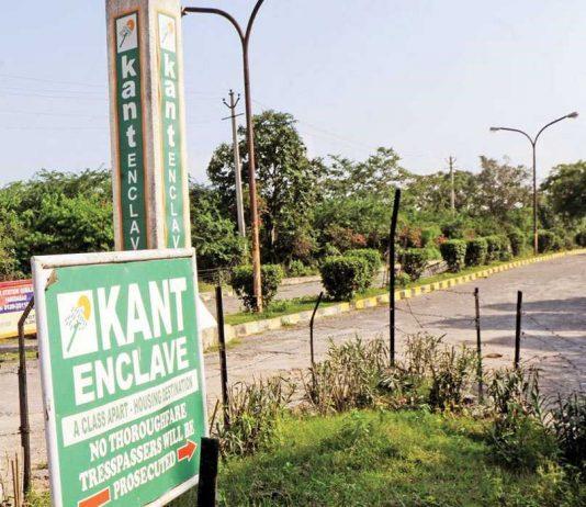 Demolition of Kant Enclave: The Hills Are Alive