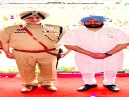 Capt Amarinder Singh and Harpreet Singh Sidhu whom he had handpicked to head the STF