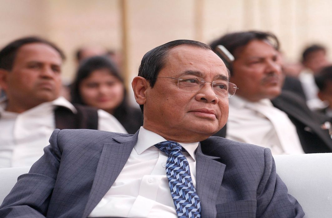 Justice Ranjan Gogoi takes over as 46th Chief Justice of India; 1st from the North East