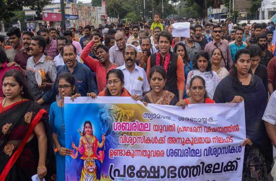 Widespread protests notwithstanding, Kerala will not challenge Sabarimala verdict