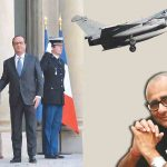 Prime Minister Narendra Modi with French president Francois Hollande in Paris in 2015 where he announced the Rafale deal/Photo: UNI
