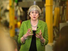 British Prime Minister Theresa May/Photo: UNI