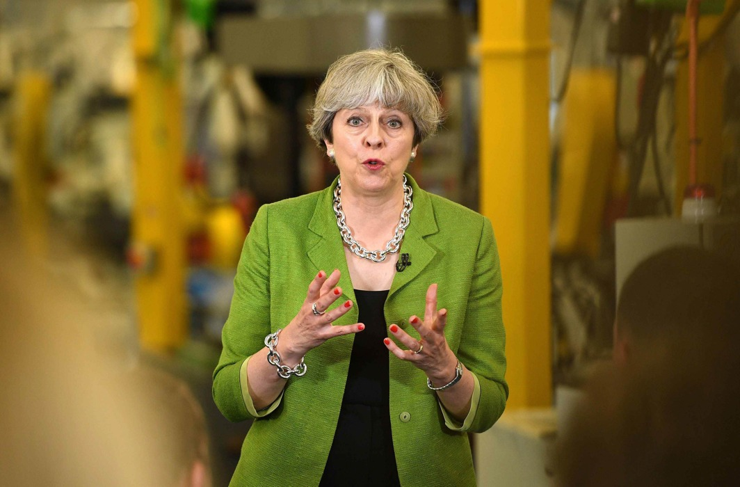 British Prime Minister Theresa May/Photo: UNI