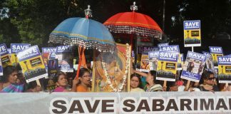 Reports of more women heading for Sabarimala keep local police on high alert