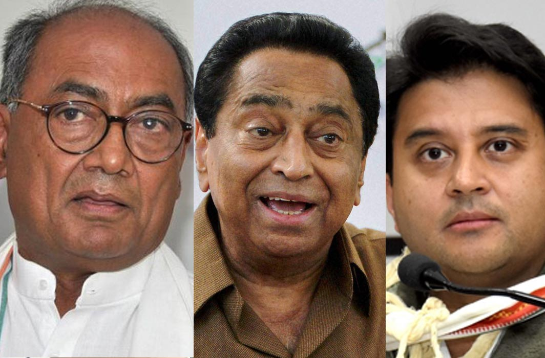 Congress Leaders Meet Guv, Stake Claim For Government in MP