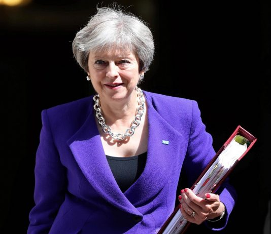 British Prime Minister Theresa May after winning the no-confidence vote/Photo: UNI