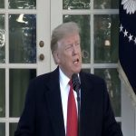 American President Donald Trump