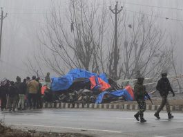 A scene after the Pulwama attack/UNI